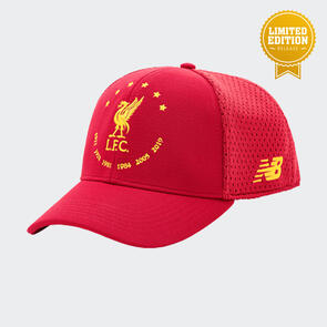New Balance Liverpool Six Times Collection Cap - Limited Edition