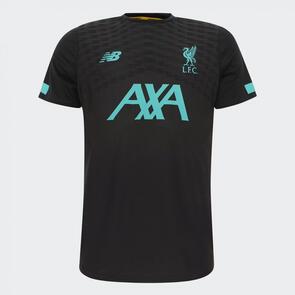 New Balance 2019-20 Liverpool Pre-Game Jersey – Grey