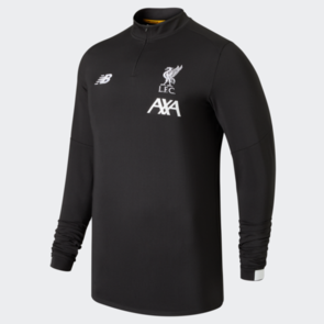 New Balance 2019-20 Liverpool On-Pitch Long Sleeve Mid-Layer Top – Grey