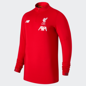 New Balance 2019-20 Liverpool On-Pitch Long Sleeve Mid-Layer Top – Red