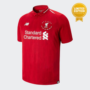 New Balance Liverpool Six Times Collection Jersey (Limited Edition) – Red