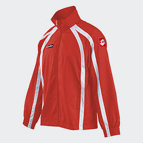 Lotto Hero Wind Jacket – Red/White