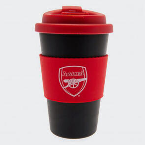 Arsenal Silicone Grip Travel Mug