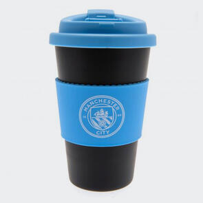 Manchester City Silicone Grip Travel Mug