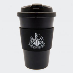 Newcastle United Silicone Grip Travel Mug