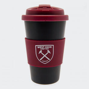 West Ham United Silicone Grip Travel Mug