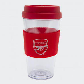 Arsenal Clear Grip Travel Mug