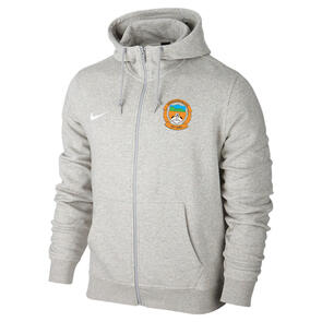 Nike Ngongotaha AFC Team Club Full-Zip Hoodie – Grey-Heather