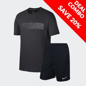 Nike Nike F.C Tee and Park Short Set