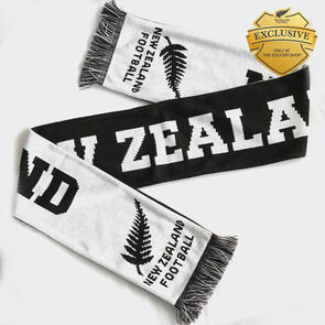New Zealand Football Knitted Scarf