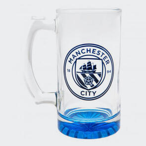 Manchester City Stein Glass Tankard CC