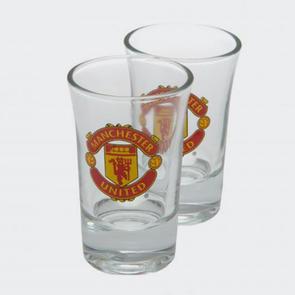 Manchester United Shot Glass Set (2 pack)