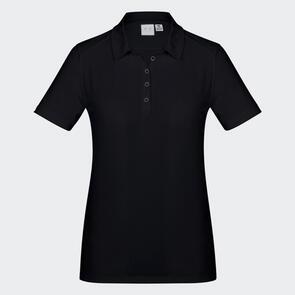 TSS Women's Aero Polo – Solid-Black