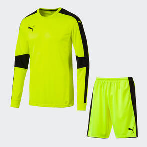Puma Tournament GK Shirt & Short Set – Fluro-Yellow