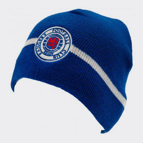Rangers Knitted Hat – Blue