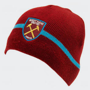 West Ham United Knitted Hat – Maroon