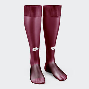 Lotto Performance Sock – Maroon