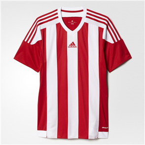 adidas Striped 15 Jersey – Powder-Red/White