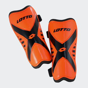 Lotto Marvel 700 Shin Guards – Orange/Black