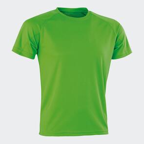 TSS Junior Impact Aircool Tee – Emerald-Green