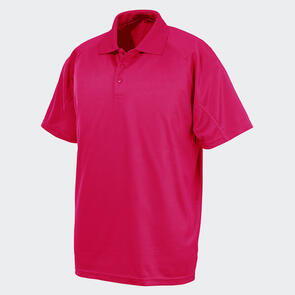 TSS Impact Aircool Polo – Flo-Pink