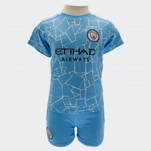 Manchester City Shirt & Short Set – 18-23 months