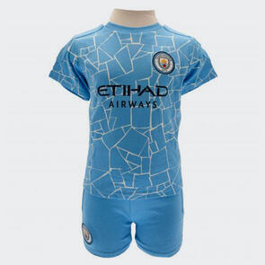 Manchester City Infant Shirt & Short Set – 2-3 years