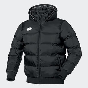 Lotto Junior Bomber Puffer Jacket – Black