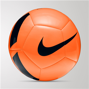 Nike Pitch Team Ball – Orange/Black