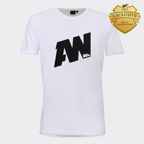All Whites AW Graphic Supporter Tee