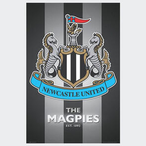 Newcastle United Club Crest Poster
