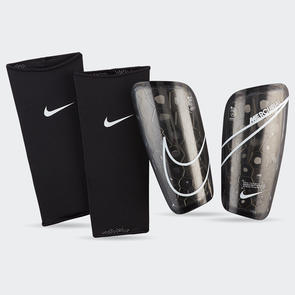 Nike Mercurial Lite Shin Guards – Black/White