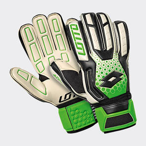 Lotto Spider 200 GK Gloves – White/Green