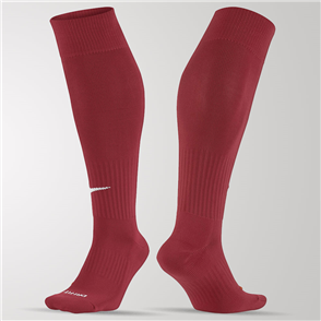 Nike Academy OTC Sock – Varsity-Red/White