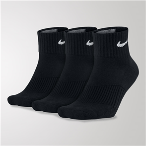 Nike Perfect Cushion 1/4 Sock (3 Pack)