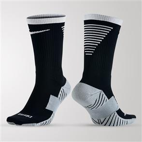 Nike Dry Squad Crew Sock – Black/White