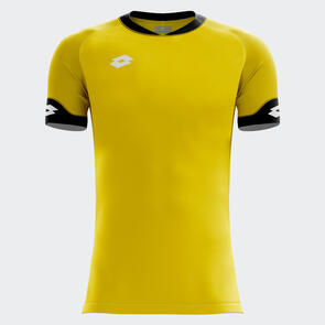 Lotto Junior Rival Shirt – Yellow/Black