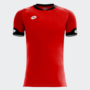 Lotto Junior Rival Shirt – Red/Black