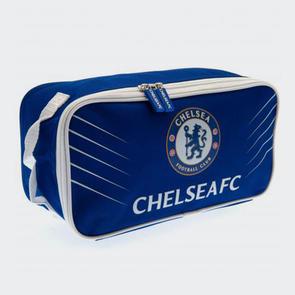 Chelsea Boot Bag – Blue/White