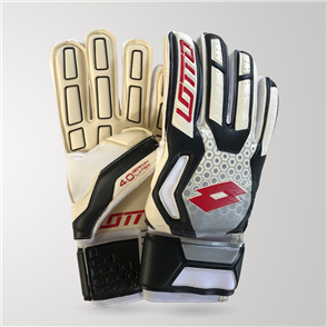 Lotto Spider 100 GK Gloves – White/Black/Red