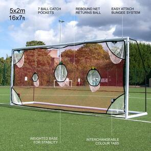 Quickplay Youth Goal Target Net (5m x 2m)