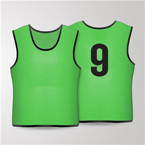 TSS 1-11 Numbered Training Bibs Set – Green
