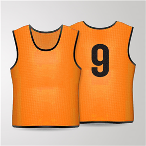 TSS 1-11 Numbered Training Bibs Set – Orange