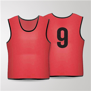TSS 1-11 Numbered Training Bibs Set – Red