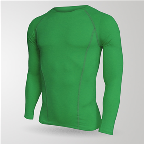 TSS Baselayer Long Sleeve Tee – Emerald-Green