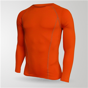 TSS Baselayer Long Sleeve Tee – Orange
