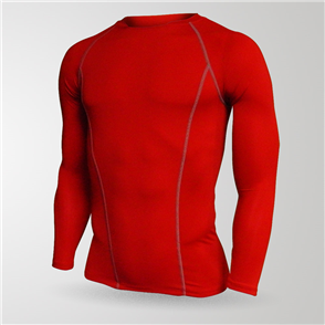 TSS Baselayer Long Sleeve Tee – Red