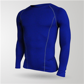TSS Baselayer Long Sleeve Tee – Royal-Blue
