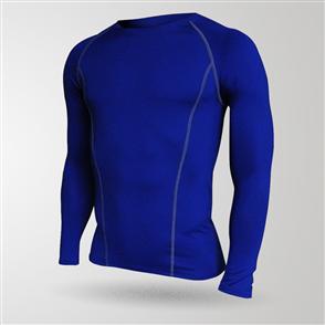 TSS Baselayer Long Sleeve Tee – Royal Blue