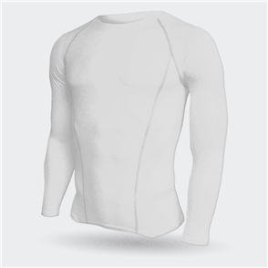 TSS Baselayer Long Sleeve Tee – White